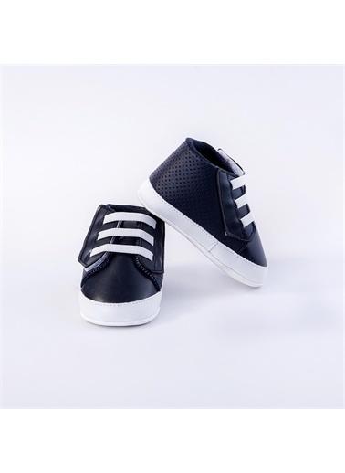 First Step Bebek Ayakkabı Siyah Lacivert